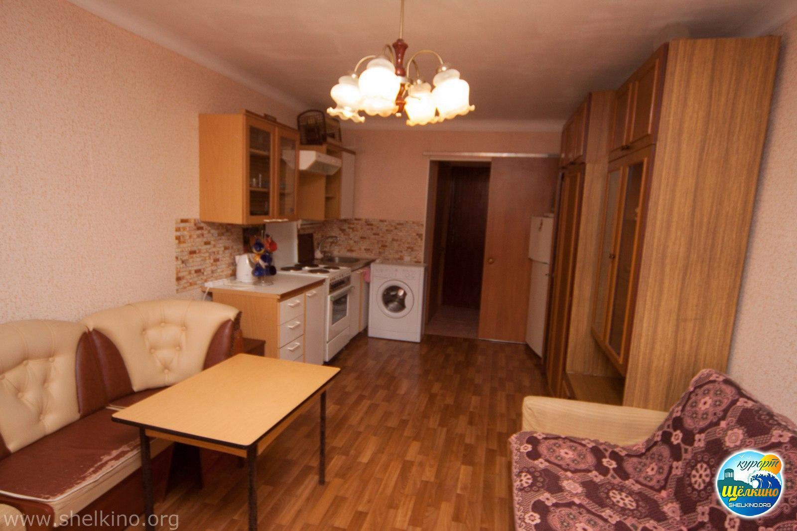 Квартира № 123 1,5 комн в 3 доме