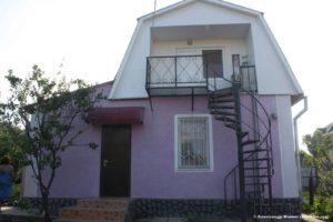 Дача №501 2-х этажная дача в Щёлкино